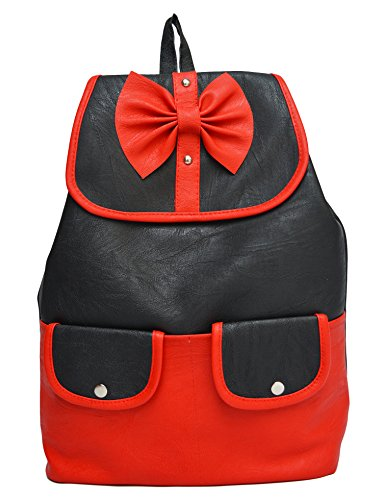 Vintage Women'S Backpack Handbag(Red,Bag 333)  available at amazon for Rs.415