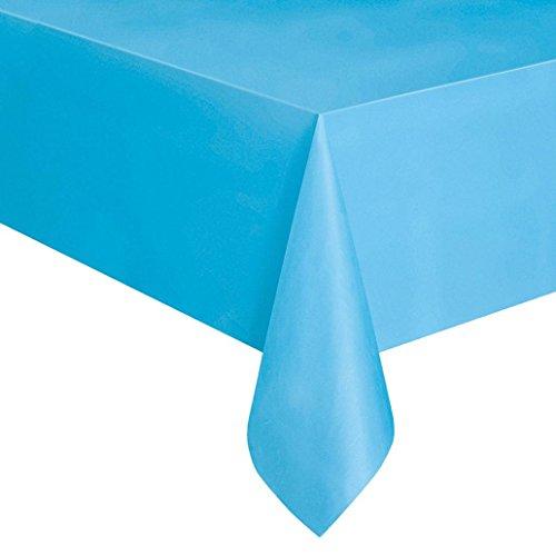 inlaub Einweg Kunststoff Rechteck Tisch Bezug Party Catering Tischdecke, PEVA, königsblau, Einheitsgröße ()