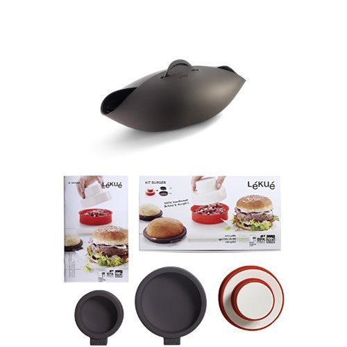 Lékué pack - Set de panera y kit para hamburguesas y panecillos