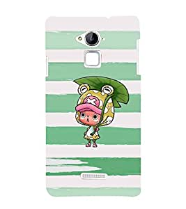 Ebby Printed back cover for CoolPad Note 3(Premium Designer case)