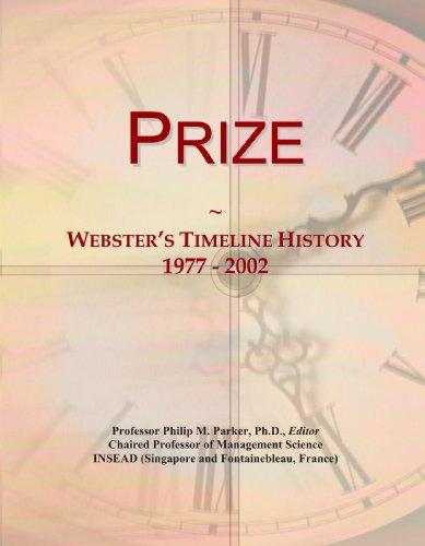 Prize: Webster's Timeline History, 1977 - 2002