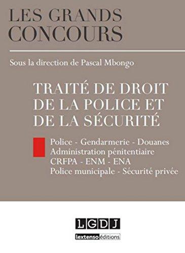 Traité de droit de la police et de la sécurité