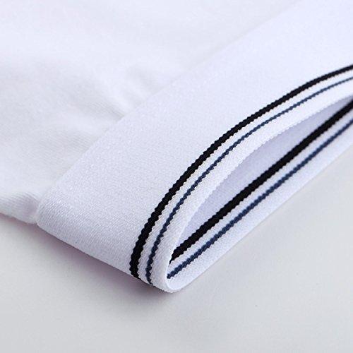 ZHXUANXUAN Uomo Corpo Modali Trunks Slip Extra Large Riassunto Del Pugile Traspirante (2-pack) Grey