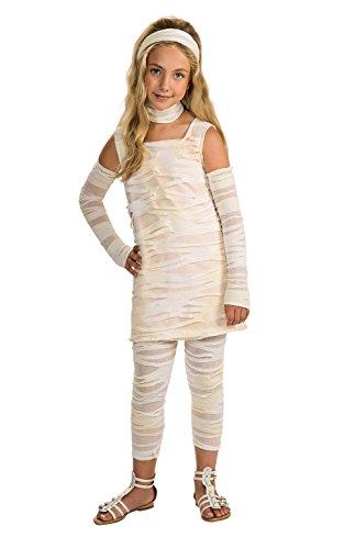 Mädchen Kids Mumie Kostüm - Rubie 's Offizielle Mumm-Ista Kostüm Mädchen Medium