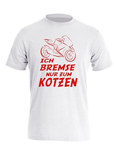 ich-bremse-nur-zum-kotzen-herren-rundhals-t-shirt
