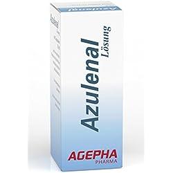 Azulenal Lösung Pflanzliche Behandlung von Entzündungen von Mundschleimhaut, Mund, Zahn, Zahnfleisch Aufbau, Aphten, Magen Darm Rollkur, Antibakteriell, Entzündungshemmend