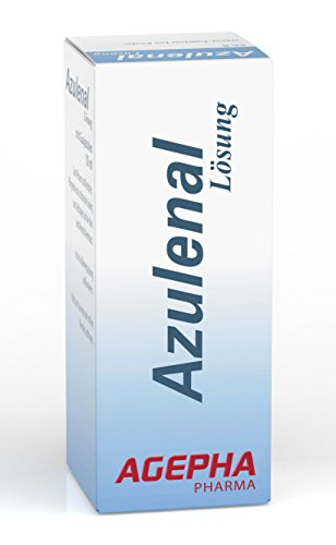 Antibakterielle Mund (Azulenal Lösung Pflanzliche Behandlung von Entzündungen von Mundschleimhaut, Mund, Zahn, Zahnfleisch Aufbau, Aphten, Magen Darm Rollkur, Antibakteriell, Entzündungshemmend)