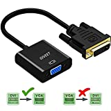 Giveet DVI zu VGA Adapter, DVI 24 + 1 DVI-D Dual Link zu VGA Stecker auf Weiblichen 1080P Video Kabel Konverter für Gaming, DVD, Laptop, HDTV Projektor & Andere DVI Enabled Devices
