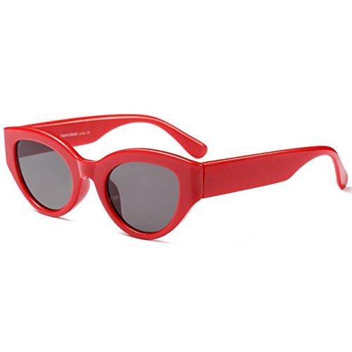 Zhuhaixmy Unisex Retro Brillen Oval Sonnenbrillen Kleine Brillen Oval Frame UV400