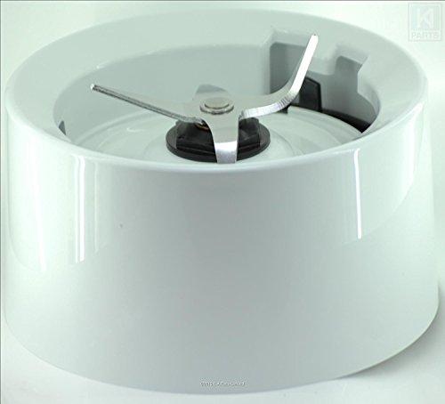 KitchenAid KSB555 Blender Jar Base / Collar with Blades White