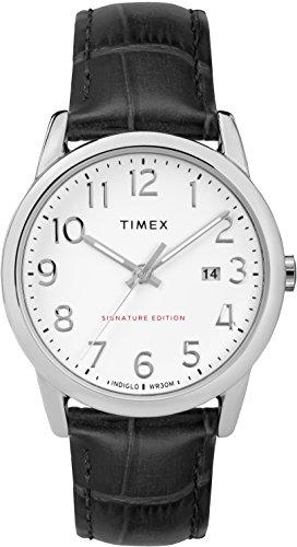 Timex Mixte Adulte Analogique Automatique Montre avec Bracelet en Cuir TW2R64900