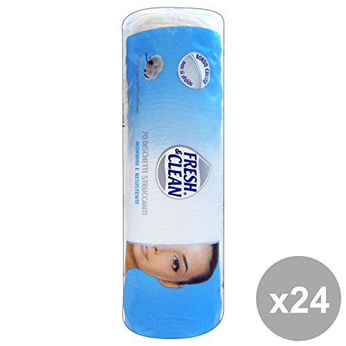 Set 24 FRESH AROMA Dischetti Cotone X 70 Pezzi Prodotti per il viso