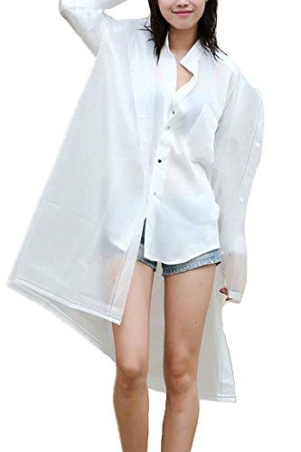 ShiYuan - Manteau imperméable - Femme Blanc