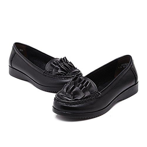 lässige Damenschuhe/Der betagten Mutter comfort - Schuh/Frühjahr/Sommer Damen Schuhe Asakuchi/Weicher Boden damenschuhe A