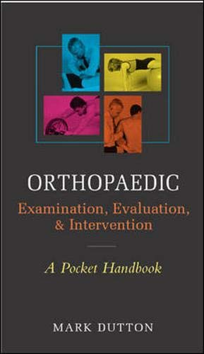 Orthopedic Examination, Evaluation, & Intervention