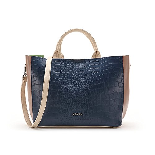 Abbacino Ss16 Trendy la Savina 8731, Borsa Donna, Taglia Unica Blu (BLUE)