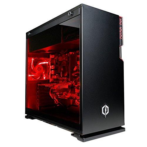 CyberpowerPC Warrior i7-1080 Gaming PC - Intel Core i7-8700, Nvidia GTX 1080 8GB, 16GB RAM, 240GB SSD, 2TB HDD, 600W 80+ PSU, Wifi, Windows 10, Inwin 101