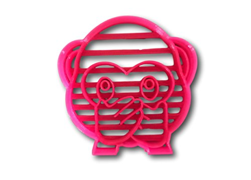 Speak No Evil Cookie Cutter - Monkey Cookie Cutter