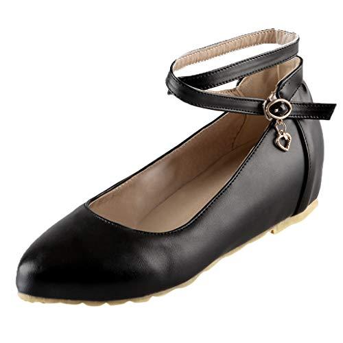 Ears Damen Beiläufig Sandalen Vintage Römische Schuhe Sommer Strand Sandalen Freizeit Böhmische Schuhe Candy Farbe Flache Freizeitschuhe Plus Größe Knöchelriemen einzelne Schuhe