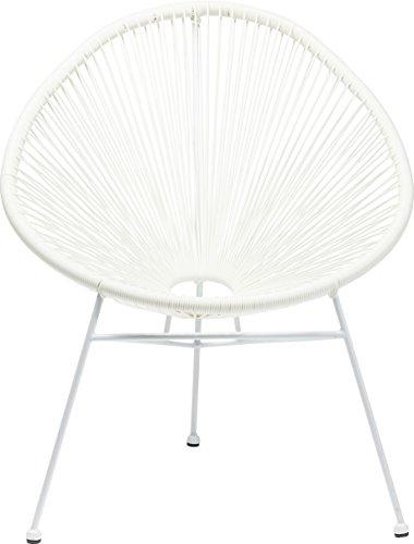 Kare Stuhl Spaghetti, Moderner Lounge Sessel im Retro-Design für Den Innen- und Outdoorbereich,...