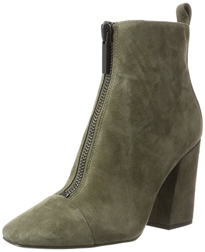 Kendall E Kylie Ladies Kkraquel Boots Verde (oliva17 Fh Kid Suede + G113)
