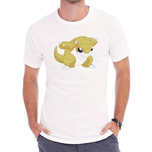 Pokemon Sandshrew Sand Ground Attack Herren T-Shirt Weiß