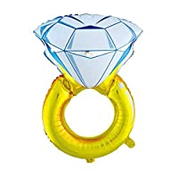 Party Propz Ring Foil Balloon For bride to be balloon,bridal shower balloons, bachelorette party Or bridal shower decor