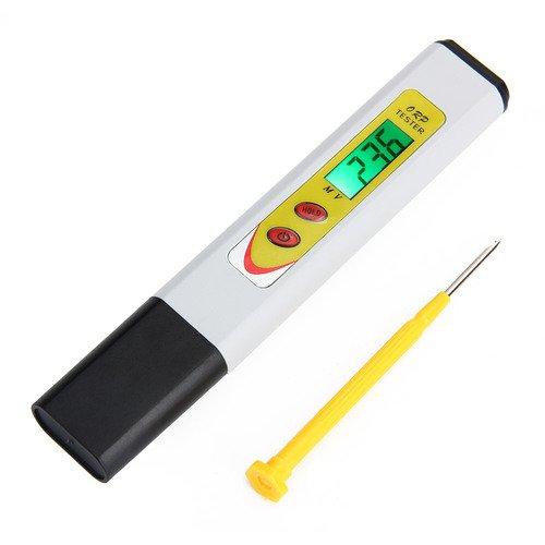 Caiyuangg®Wasserqualität Tester,der Stift Muster ORP Redox Messgerät ±1999 LCD-Rücklicht zur Überprüfung der Wasserqualität