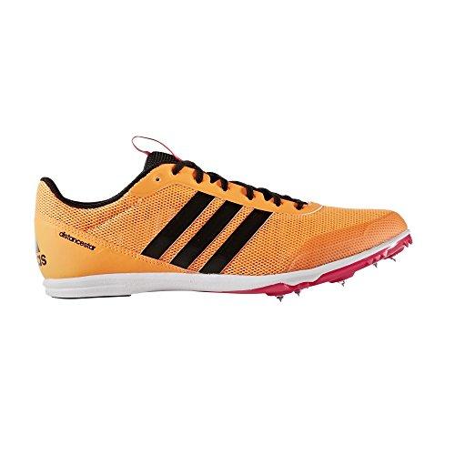 adidas Damen Distancestar W Laufschuhe, Orange (Narbri/Negbas/Rosimp Narbri/Negbas/Rosimp), 39 1/3 EU (Damen-lauf-spikes)