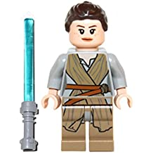 LEGO Star Wars : Minifigur Rey with lightsaber out of set 75099