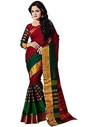 Indira Designer Women's Art Silk with Blouse Piece Saree