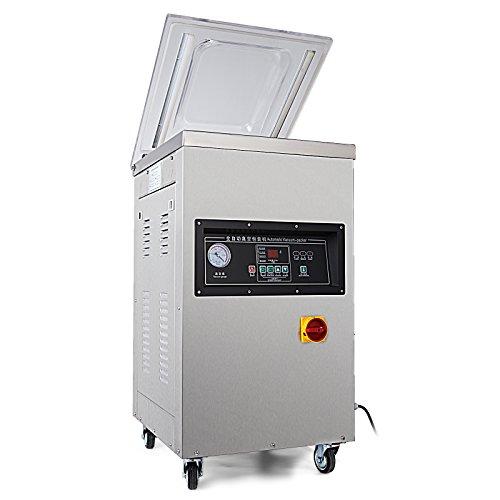 HODOY Dz-400 Macchina Confezionatrice Sottovuoto Professionale 900W Macchina Sottovuoto Confezionatrice Professionale Machine Slear In Acciaio Inox (DZ-400/2E)