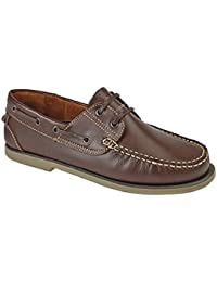 Dek Chaussures bateau Mocassin en cuir multicolore 4couleurs différentes de qualité supérieure