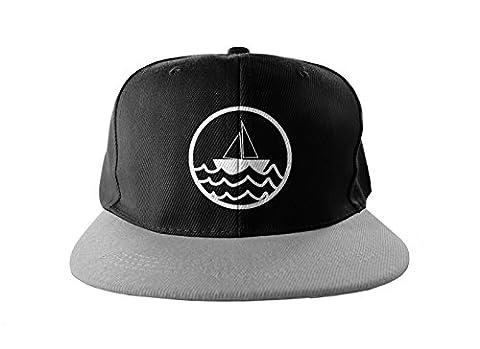 Sea Captain Hat - Boat Sea Captain Hip Hop Print Snapback