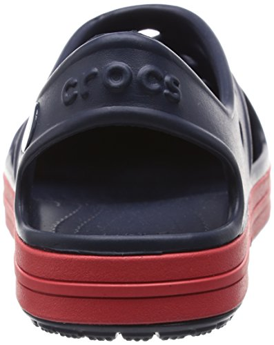 Crocs Bump It K, Sandales - Mixte enfant Bleu (Navy/Flame)