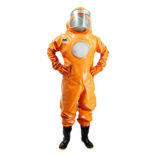 KLGW Insgesamt Schutz und Sicherheit Arbeit Horse Bee Suit Breathable Komplette Stück mit Fan Dicke Atmungsaktive Anti-Biene-Kleidung -
