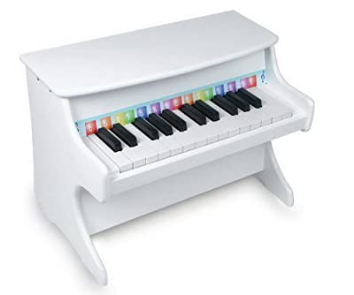 Small Foot Company 2473 - Piano de juguete color blanco [Importado de Alemania] por Small Foot Company