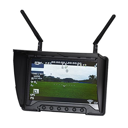 flysight-black-pearl-rc801lr-58ghz-40ch-7-inch-lcd-diversity-receiver-1024-600-hd-monitor-with-integ