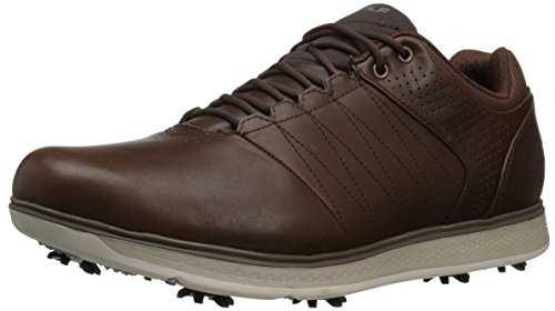 Skechers, Scarpe da Golf Uomo, Marrone (Chocolate), 42 EU