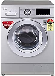 LG 8.0 Kg 5 Star Inverter Fully-Automatic Front Loading Washing Machine (FHM1208ZDL, Luxury Silver, Direct Dri