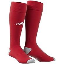 best service ad3f4 6fcdf Adidas Milano Calzettoni da Uomo, RossoBianco (Power RedWhite (AJ5906