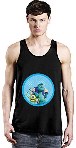 Movie Stars Merchandise Monsters, Inc. Unisex Tank Top T-Shirt Men Women Stylish Fashion Fit Custom Apparel by Medium (Inc Monsters Tank Top)
