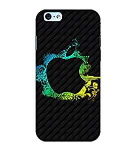 Printtech Iphone 6 / 6S Cover, Original Slim Flexible Shockproof Apple Abstract Back Case Cover