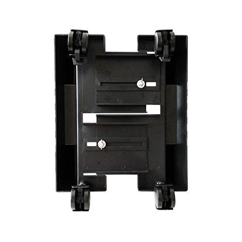 comprare on line Ewent EW1290 Portacase, Supporto per PC case con rotelle Bloccabili, larghezza regolabile, nero prezzo