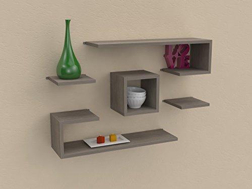 Ve ca italy mensola libri design in legno di alta qualita for Mensole design online