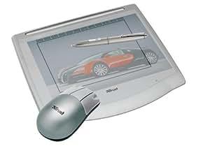 Trust Wireless Design & Work Tablet 400 Souris/numériseur/stylet 20.3 x 15.2 cm câblé USB