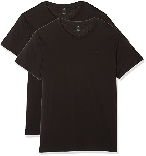 G-STAR RAW Herren Basic Heather T-Shirt 2-Pack