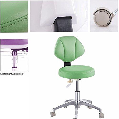 dentallabore Medical Büro DR 's Hocker Ärzte Hocker verstellbar Mobile Stuhl PU New (Mobile Lab-hocker)