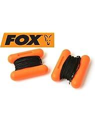 Fox Mini H-blocks red - 2 H-Bojen, Boje zum Futterplatz markieren, Markierungsboje, Hbojen zum Karpfenangeln