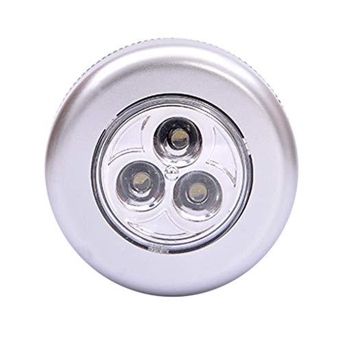 ebetriebene LED-Wireless-Nachtlicht-Stock-Hahn-Noten-Push-Sicherheitsschrank Cabinet Kitchen Wandleuchte ()